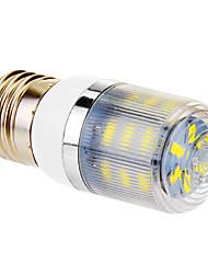 baratos -YWXLIGHT® 4W 350-400 lm E26/E27 Lâmpadas Espiga T 24 leds SMD 5730 Branco Frio AC 220-240V