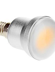 Недорогие -1шт 5 W 280-320 lm E14 Круглые LED лампы 1 Светодиодные бусины COB Тёплый белый 85-265 V