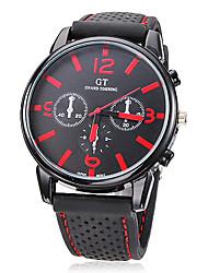 Men's Watch Dress Watch Casual Watch Silicone Strap Wrist Watch Cool Watch Unique Watch Fashion Watch