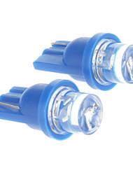 Недорогие -T10 Автомобиль синий Лампа подсвета приборной доски Лампа освещения номерного знака Лампы сигнала поворота Стоп-сигналы