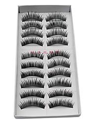 levne -Řasy 10 pcs Dodávající na objemu Řasy Klasické Denní Makeup Kosmetický