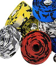 baratos -Moto Guiador Tape Bicicleta de Estrada Amarelo / Branco / Vermelho / Azul liga de alumínio