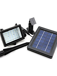 cheap -Solar Power Ultra Bright 30 LED Garden Flood Spot Light Lawn Cool White Lamp(CIS-57217)
