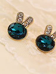 cheap -Women's Stud Earrings Synthetic Gemstones Crystal Rhinestone Imitation Diamond Alloy Jewelry Daily Casual Costume Jewelry