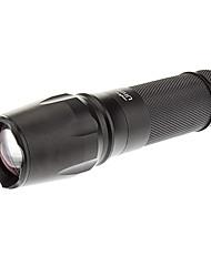 abordables -Lampes Torches LED / Lampes de poche LED 1000lm 5 Mode d'Eclairage Faisceau Ajustable / Rechargeable / Tactique Camping / Randonnée /