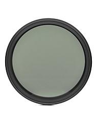 fotga® 67 milímetros que diminui magro nd filtro de densidade neutra ND2 variável ajustável para ND400