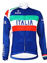 Kooplus - Italian National Team Cycling Long Sleeve Fleece Jersey