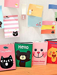 cheap -Cartoon Animal Pattern Folding Self-Stick Note