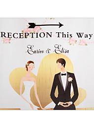 Carta per rivestimenti Decorazioni di nozze-1Piece / Set Personalizzato