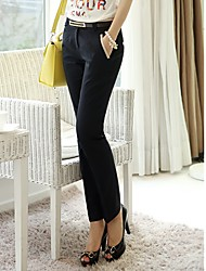 Women's Suit Pants with Belt