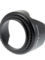 Universal 55mm Screw Mount Lens Hood for Nikon/Canon