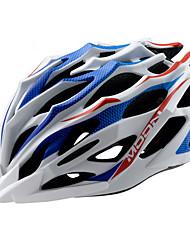cheap -MOON Cycling Blue+White PC/EPS 28 Vents MTB Helmet