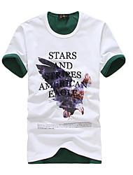 billige -Herre-Bogstaver Dyr Chic & Moderne T-shirt