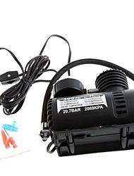 abordables -Portable Car / Auto 12V Compresor de aire eléctrico / neumático del 300PSI