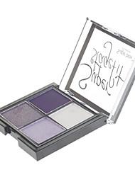 4 Eyeshadow Shimmer Eyeshadow palette Powder Normal