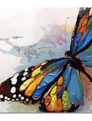 baratos -Pintados à mão pintura a óleo abstrata moderna, com quadro esticado