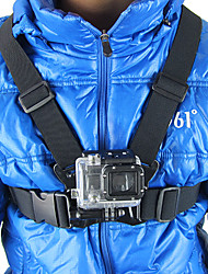 cheap -Chest Harness For Action Camera Gopro 5 Gopro 4 Gopro 4 Session Gopro 4 Silver Gopro 4 Black Gopro 3 Gopro 2 Gopro 3+ Gopro 1 MEE +3 MEE