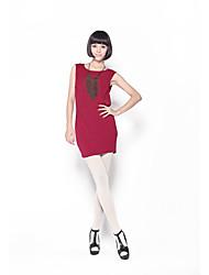 Simple élastique H-Line Zoely femmes Exclure Collier Casual Dress 101121L064