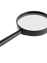 cheap -5X 75mm Diameter Lens Handle Straight Shank Reading Magnifier Magnifying Glass