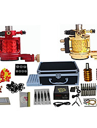 cheap -2 Machines Complete Tattoo Kit with Free Gift of 20 Tattoo Inks