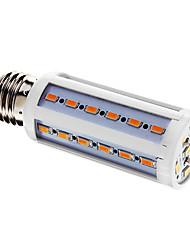 E26/E27 LED-kolbepærer T 42 leds SMD 5730 Varm hvid 800lm 3000-3500K Vekselstrøm 220-240V