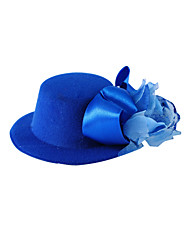 cheap -Women's Flower Girl's Satin Silk Headpiece-Wedding Special Occasion Casual Flowers