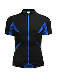 cheap -Jaggad Men's Women's Short Sleeves Cycling Jersey Bike Jersey, Quick Dry, Breathable