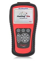 abordables -Autel® maxidiag motor del coche MD703 elite obd2 / obdii código escáner lector de transmisión airbag abs srs