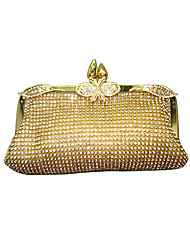 cheap -Women Bags Evening Bag Crystal/ Rhinestone for Event/Party All Seasons Gold Silver