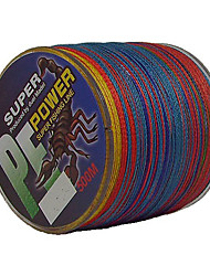 cheap -500M / 550 Yards PE Braided Line / Dyneema / Superline Fishing Line Assorted Colors 50LB / 45LB / 60LB 0.3;0.32;0.37 mm ForSea Fishing /