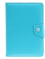 Недорогие -7-дюймовый универсальный PU кожаная сумка чехол с подставкой для планшетных ПК