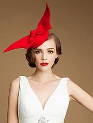 Недорогие -Модные Шерсть Girls Party / На открытом воздухе / Свадебные шляпы с ангельскими крыльями (больше цветов)