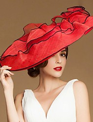cheap -Fashional  Flax  Women Wedding/ Parting/ Honeymoon Hat With Floral(More Colors)