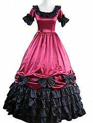 Недорогие -Вдохновлен Косплей Косплей видео Игра Косплэй костюмы Платья Пэчворк С короткими рукавами Платье