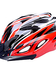 cheap -FJQXZ Bike Helmet Cycling 18 Vents Half Shell Sports PC EPS Road Cycling Cycling