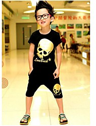 cheap -Boy's Fashion T-Shirts+Shorts Sets Lovely Summer Two Pieces Sports Sets Clothing Set