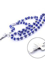 preiswerte -Personalisierte Geschenke aus Edelstahl und Silikon-Ketten-Halsketten-Strickjacke-Kette