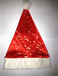 Ternos de Papai Noel Chapéus Natal Festival/Celebração Trajes da Noite das Bruxas
