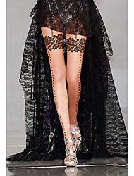 cheap -Women's Thin Pantyhose-Jacquard