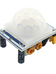 cheap -For Arduino HC-SR501 Adjust IR Pyroelectric Infrared PIR Motion Sensor Detector Module