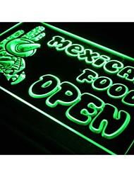 i101 OUVERT mexicain Cactus Food Bar Café Light Enregistrez-vous