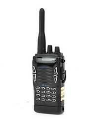 BFDX VF-5118 5W 400-450MHz 100 canales Walkie Talkie - Negro (1-Pack)