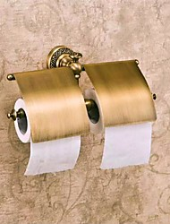 cheap -Toilet Paper Holder High Quality Antique Brass 1 pc - Hotel bath