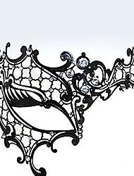 Maske Unisex Halloween Karneval Fest/Feiertage Halloween Kostüme Schwarz
