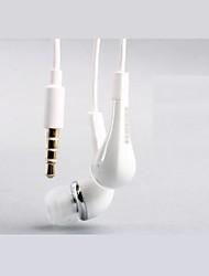 A qualidade do som do Marfim 3,5 milímetros In-ear controle de volume do fone de ouvido fone de ouvido para Samsung S2/S3/S4