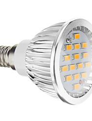Недорогие -5 Вт. 380 lm E14 GU10 GU5.3(MR16) E26/E27 Точечное LED освещение 15 светодиоды SMD 5730 Тёплый белый Холодный белый AC 100-240 В
