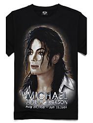 levne -m-říše 3d bavlna celebrity krátký rukáv t-shirt