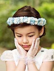 cheap -Paper Satin Flowers Headpiece Wedding Party Elegant Feminine Style