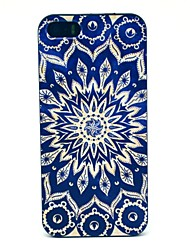 cheap -Case For iPhone 5 Apple iPhone 5 Case Pattern Back Cover Mandala Hard PC for iPhone SE/5s iPhone 5