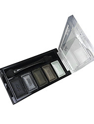 billiga -5 Färger Makeup Eye Shadow Palette (J034-10)